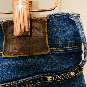 Women's Lucky brand jeans